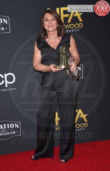 Lizzie Yianni-Georgiou - Beverly Hills - 03-11-2019 - Antonio Banderas, agli Hollywood Film Awards con la sua Stella