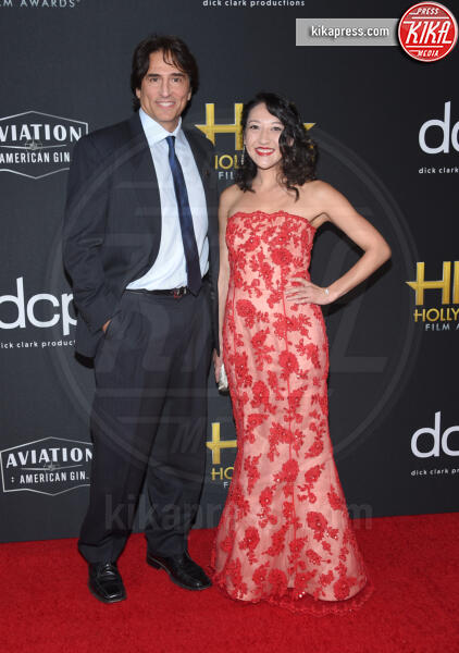 Vincent Spano - Beverly Hills - 03-11-2019 - Antonio Banderas, agli Hollywood Film Awards con la sua Stella