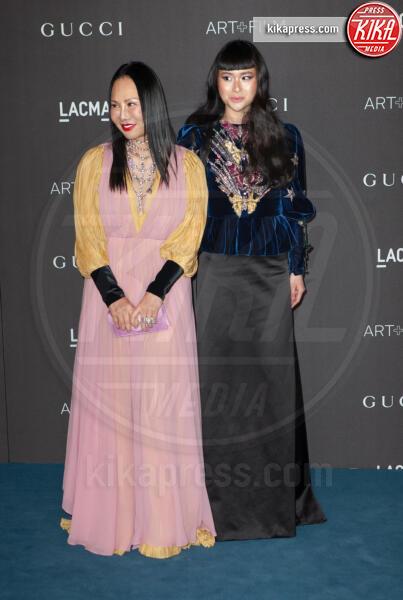 Asia Chow, Eva Chow - Los Angeles - 02-11-2019 - Lacma Art + film gala: il debutto della coppia Reeves-Grant