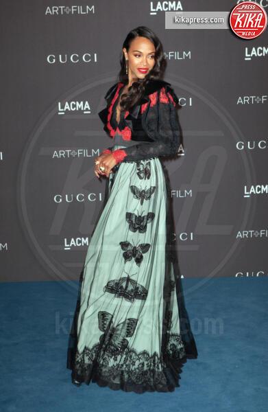 Zoe Saldana - Los Angeles - 02-11-2019 - Lacma Art + film gala: il debutto della coppia Reeves-Grant