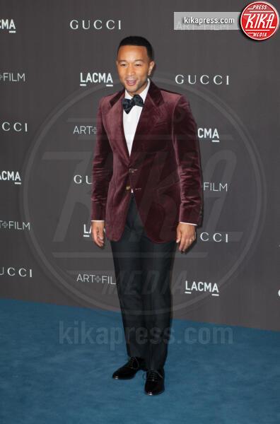 John Legend - Los Angeles - 02-11-2019 - Lacma Art + film gala: il debutto della coppia Reeves-Grant