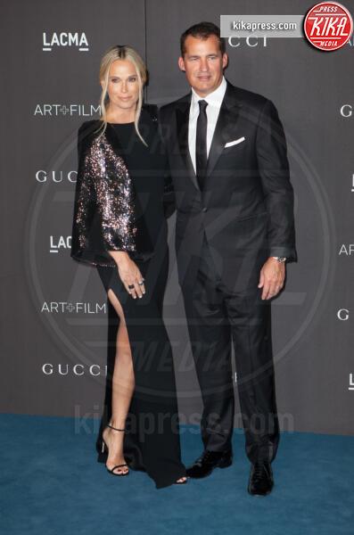 Scott Stuber, Molly Sims - Los Angeles - 02-11-2019 - Lacma Art + film gala: il debutto della coppia Reeves-Grant