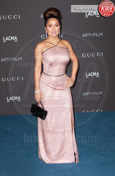 Salma Hayek Pinault - Los Angeles - 02-11-2019 - Lacma Art + film gala: il debutto della coppia Reeves-Grant