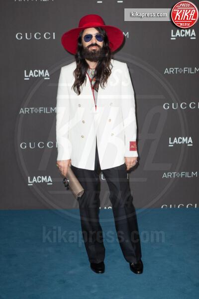 Alessandro Michele - Los Angeles - 02-11-2019 - Lacma Art + film gala: il debutto della coppia Reeves-Grant