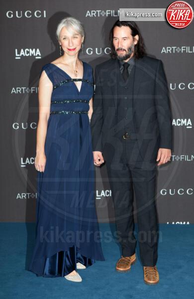 Alexandra Grant, Keanu Reeves - Los Angeles - 02-11-2019 - Lacma Art + film gala: il debutto della coppia Reeves-Grant