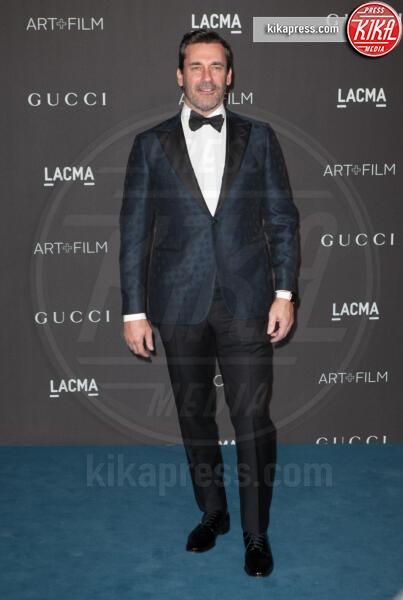 Jon Hamm - Los Angeles - 02-11-2019 - Lacma Art + film gala: il debutto della coppia Reeves-Grant