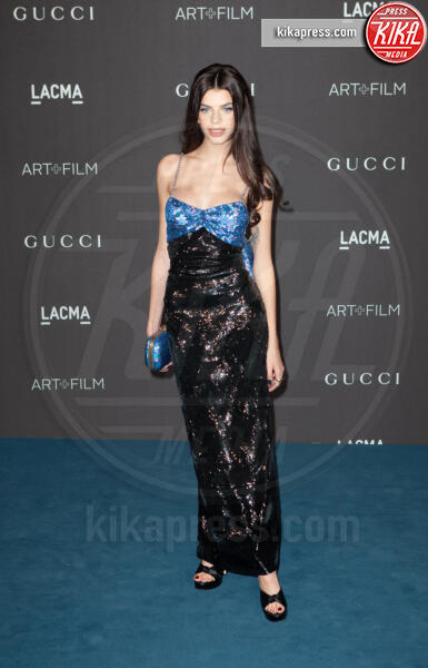 Sonia - Los Angeles - 02-11-2019 - Lacma Art + film gala: il debutto della coppia Reeves-Grant