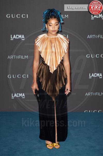 Amandla Stenberg - Los Angeles - 02-11-2019 - Lacma Art + film gala: il debutto della coppia Reeves-Grant
