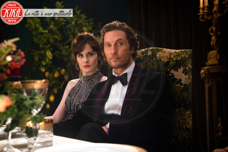 Michelle Dockery, Matthew McConaughey - Londra - 13-12-2018 - The Batman: Matthew McConaughey sarà Harvey Dent