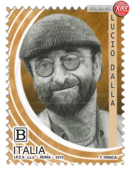 Francobollo Lucio Dalla - Roma - Lucio Dalla, Pino Daniele e Giorgio Gaber sui francobolli