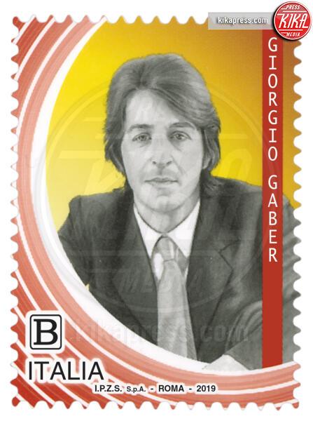 Francobollo Giorgio Gaber - Roma - Lucio Dalla, Pino Daniele e Giorgio Gaber sui francobolli