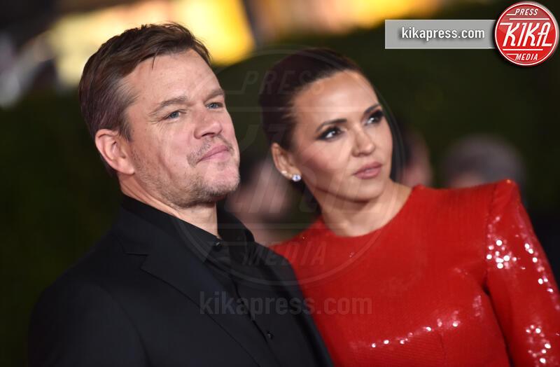 Luciana Barroso, Matt Damon - Hollywood - 05-11-2019 - Ford V Ferrari, lo sprint di Elisabetta Canalis