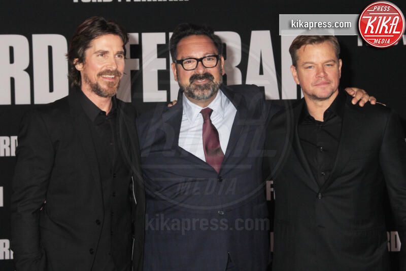 James Mangold, Christian Bale, Matt Damon - Hollywood - 04-11-2019 - Ford V Ferrari, lo sprint di Elisabetta Canalis