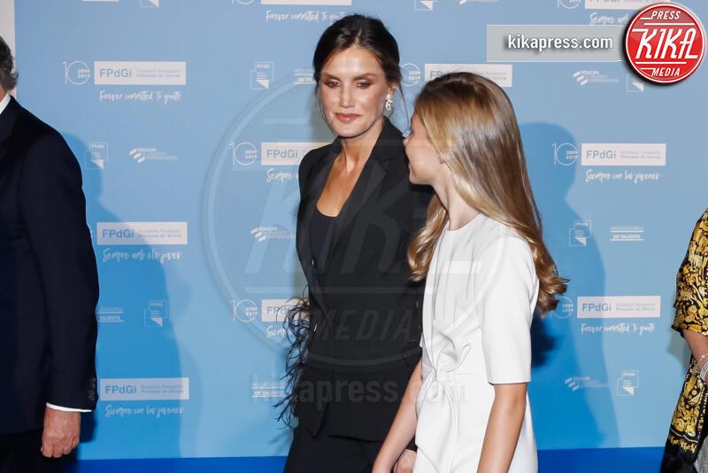 Principessa Leonor di Borbone, Letizia Ortiz - Barcellona - 04-11-2019 - Principessa Leonor di Spagna, prove da regina