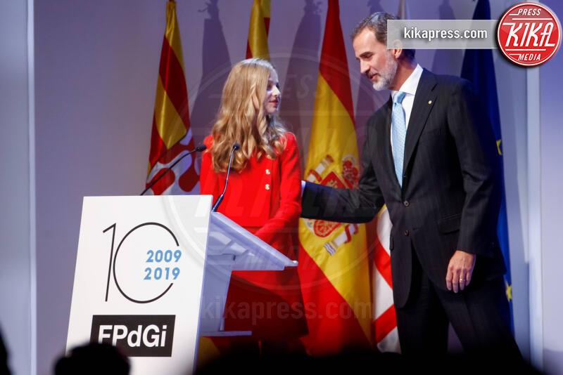 Principessa Leonor di Borbone, Re Felipe di Borbone - Barcellona - 04-11-2019 - Principessa Leonor di Spagna, prove da regina