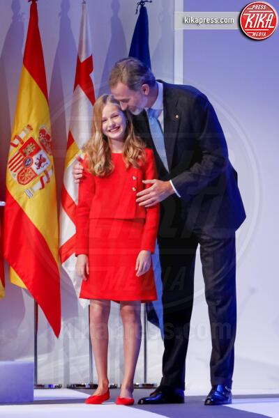 Principessa Leonor di Borbone, Re Felipe di Borbone - Barcellona - 04-11-2019 - Principesse adolescenti sui troni d'Europa: le riconoscete?