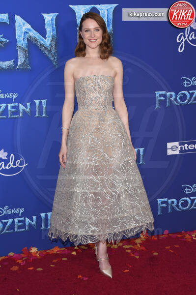 Evan Rachel Wood - Hollywood - 08-11-2019 - Frozen 2, l'adorabile abbinamento delle sorelle Gomez
