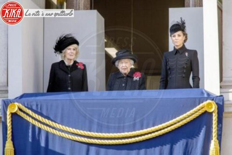 Regina Elisabetta II, Kate Middleton, Camilla Parker Bowles - Londra - 10-11-2019 -
