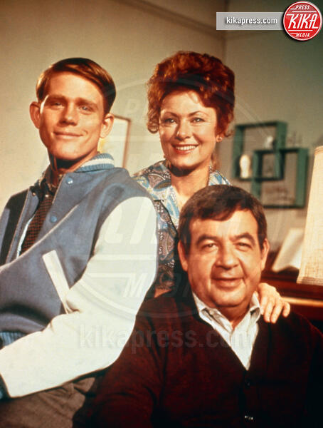 Tom Bosley, Marion Ross, Ron Howard - 19-10-1974 - Happy Days compie 45 anni: gli attori ieri e oggi