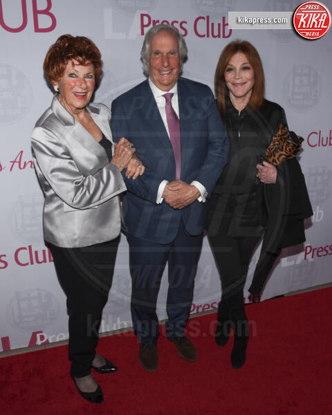 Stacey Weitzman, Marion Ross, Henry Winkler - Los Angeles - 30-06-2019 - Happy Days compie 45 anni: gli attori ieri e oggi