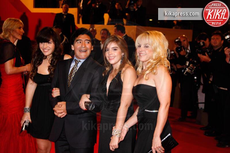 Claudia Villafane, Giannina Maradona, Dalma Maradona, Diego Armando Maradona - Hollywood - 20-05-2008 - Suoceri famosi delle star... e dove trovarli!