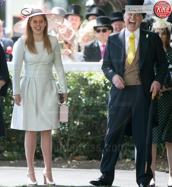 Principessa  Beatrice di York, Principe Andrea Duca di York, Sarah Ferguson - 22-06-2018 - Beatrice di York, lo scandalo del padre Andrea investe le nozze