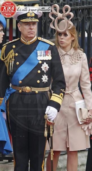 Principessa  Beatrice di York, Principe Andrea Duca di York, Principessa Eugenia di York - Londra - 01-05-2011 - Beatrice di York, lo scandalo del padre Andrea investe le nozze