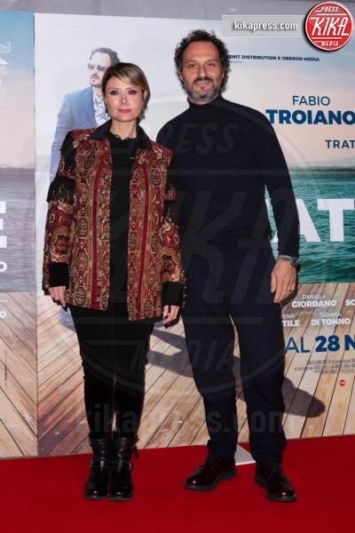 Euridice Axen, Fabio Troiano - Roma - 27-11-2019 - Fabio Troiano ed Eleonora Pedron, romanticismo sul red carpet!