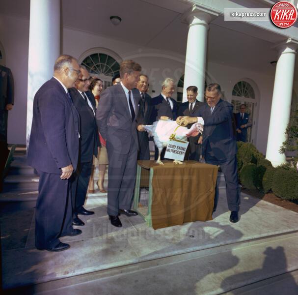 1963, John Fitzgerald Kennedy - Washington - 11-06-2012 - Thankgiving, da Roosvelt a Trump, tutti i tacchini presidenziali