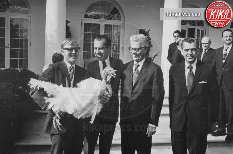 1969, Richard Nixon - Washington - 28-11-2019 - Thankgiving, da Roosvelt a Trump, tutti i tacchini presidenziali