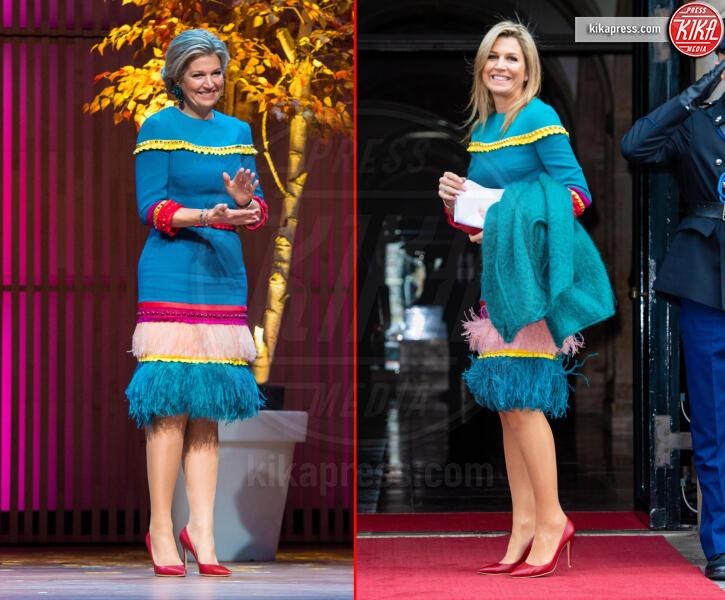 Regina Maxima d'Olanda - 28-11-2019 - Regina Maxima, novembre 2018 e 2019: trovate le differenze!