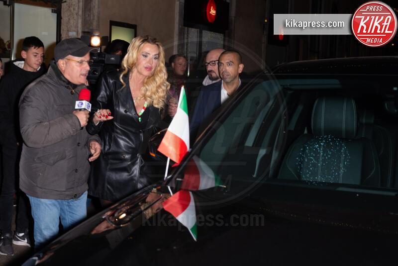 Valeria Marini, Enrico Lucci - Roma - 28-11-2019 - Valeria Marini è Presidente: tutti in piedi, anche Cecchi Gori!
