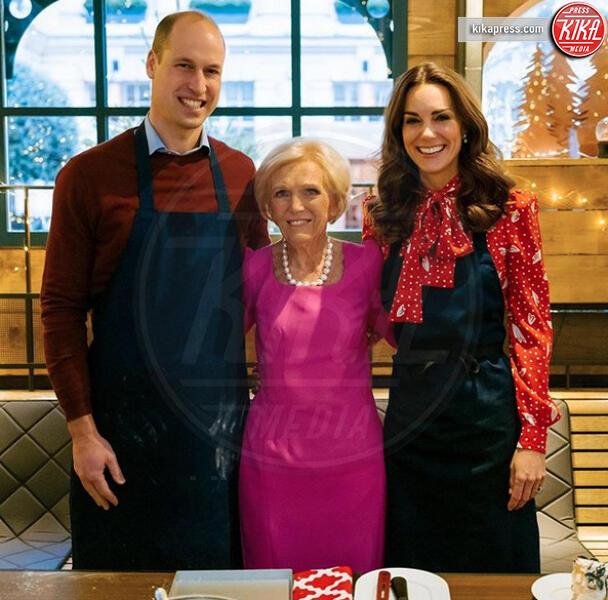 Mary Berry, Principe William, Kate Middleton - Londra - 02-12-2019 - Kate Middleton, la regina dei biscotti di Natale