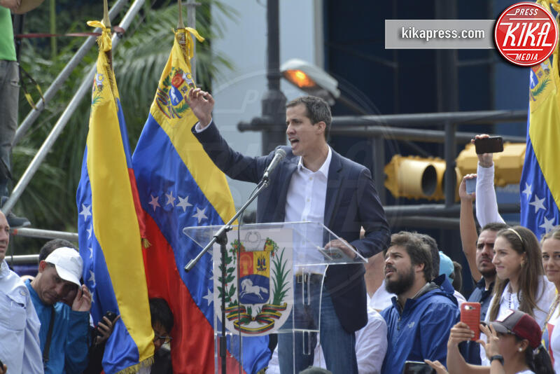 Juan Guaidó - Caracas - 23-01-2019 - Addio 2019, le immagini simbolo dell'anno