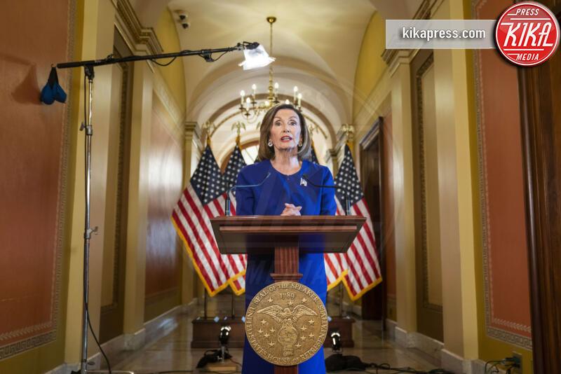 Nancy Pelosi - Washington - 24-09-2019 - Addio 2019, le immagini simbolo dell'anno