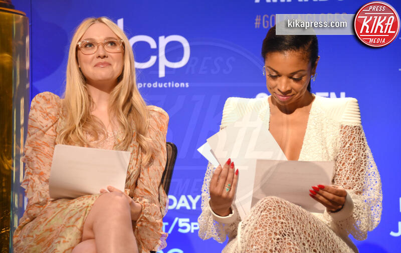 Susan Kelechi Watson, Dakota Fanning - Beverly Hills - 09-12-2019 - Golden Globes 2020: alle nomination trionfo The Crown e Scorsese