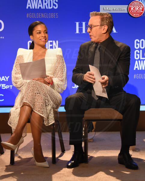 Susan Kelechi Watson, Tim Allen - Beverly Hills - 09-12-2019 - Golden Globes 2020: alle nomination trionfo The Crown e Scorsese