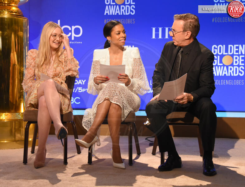 Susan Kelechi Watson, Tim Allen, Dakota Fanning - Beverly Hills - 09-12-2019 - Golden Globes 2020: alle nomination trionfo The Crown e Scorsese