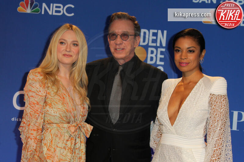 Susan Kelechi Watson, Tim Allen, Dakota Fanning - Los Angeles - 09-12-2019 - Golden Globes 2020: alle nomination trionfo The Crown e Scorsese