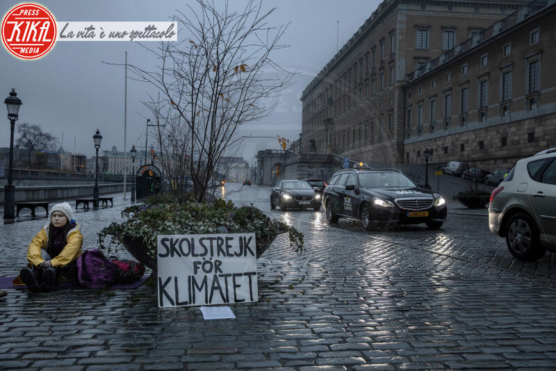 Greta Thunberg - Stoccolma - 09-11-2018 - Time: Greta Thunberg è la Persona dell'anno