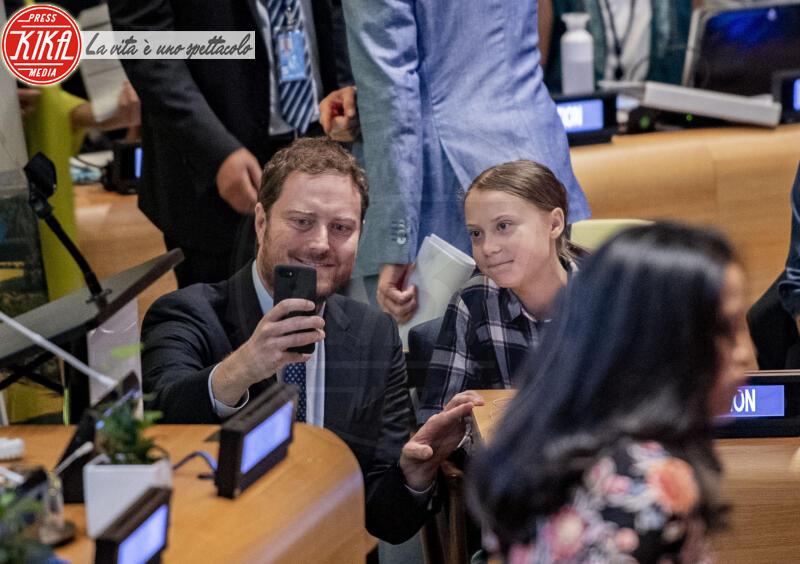 Greta Thunberg - New York - 23-09-2019 - Time: Greta Thunberg è la Persona dell'anno