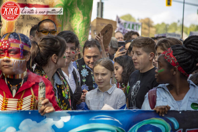 Greta Thunberg - MONTREAL - 27-09-2019 - Time: Greta Thunberg è la Persona dell'anno