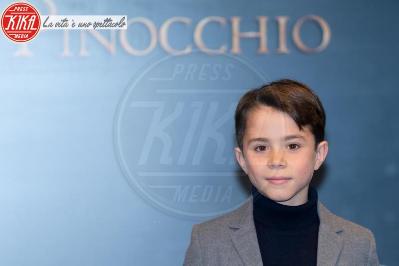 Federico Ielapi - Roma - 12-12-2019 - Roberto Benigni e Matteo Garrone, è il momento di Pinocchio
