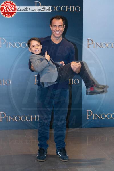 Federico Ielapi, Matteo Garrone - Roma - 12-12-2019 - Roberto Benigni e Matteo Garrone, è il momento di Pinocchio