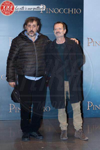 Massimo Ceccherini, Rocco Papaleo - Roma - 12-12-2019 - Roberto Benigni e Matteo Garrone, è il momento di Pinocchio