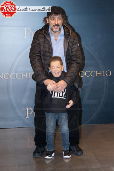 Davide Marotta, Massimo Ceccherini - Roma - 12-12-2019 - Roberto Benigni e Matteo Garrone, è il momento di Pinocchio