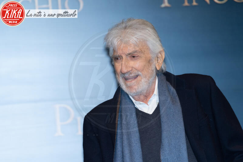 Gigi Proietti - Roma - 12-12-2019 - Roberto Benigni e Matteo Garrone, è il momento di Pinocchio