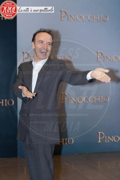 Roberto Benigni - Roma - 12-12-2019 - Roberto Benigni e Matteo Garrone, è il momento di Pinocchio