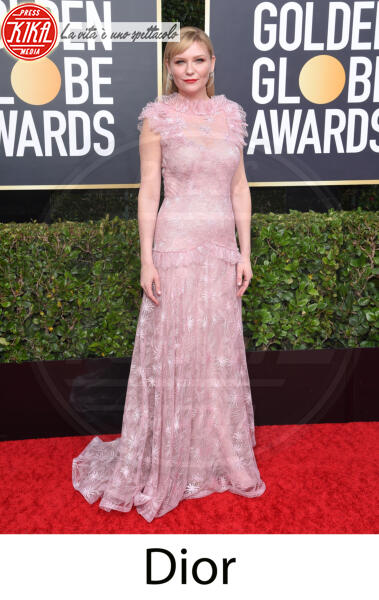 Kirsten Dunst - Beverly Hills - 31-12-2013 - Golden Globes 2020, gli stilisti sul red carpet