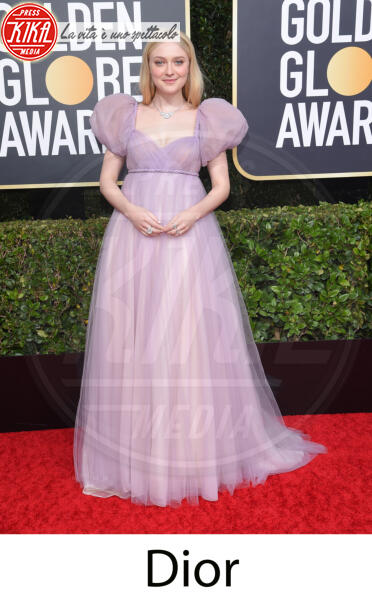 Dakota Fanning - Beverly Hills - 31-12-2013 - Golden Globes 2020, gli stilisti sul red carpet
